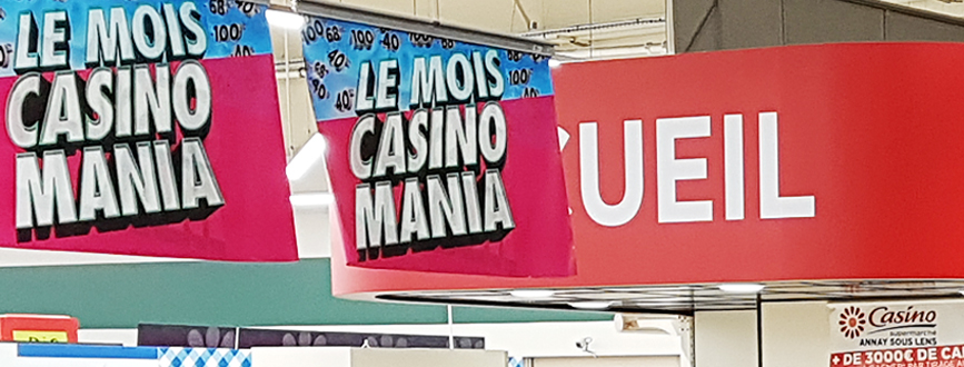 Inauguration du supermarché Casino