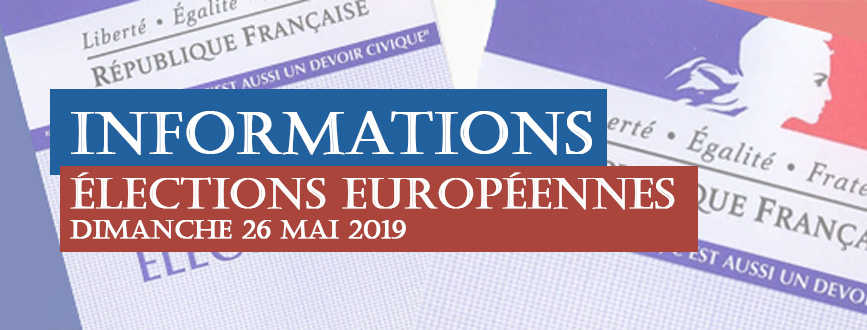 Informations Elections Européennes
